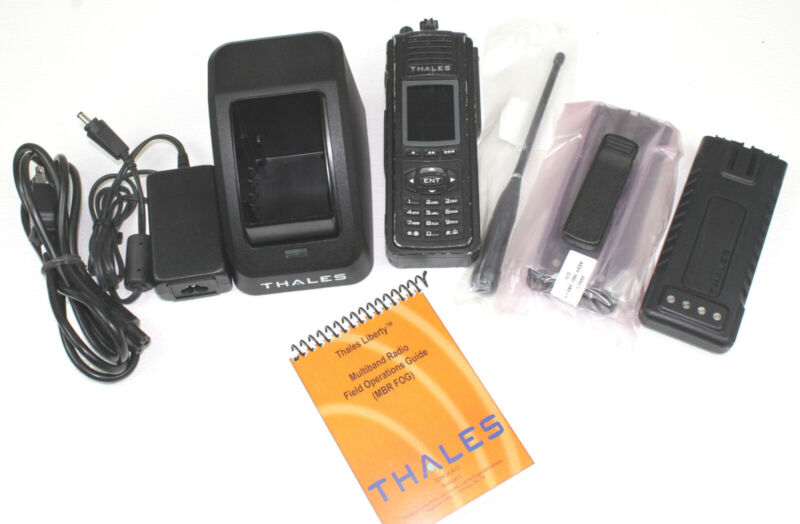 THALES PRC-7332 Liberty Multiband (VHF, UHF, 700 & 800Mhz) P25 FPP COSMETIC/GOOD
