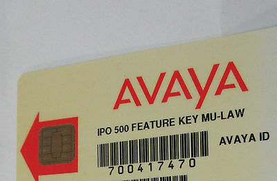 Avaya Ip 500 V1 Card 700417470 Preferred Voice Mail Pro 8 Port 4 Sip Trunk 16