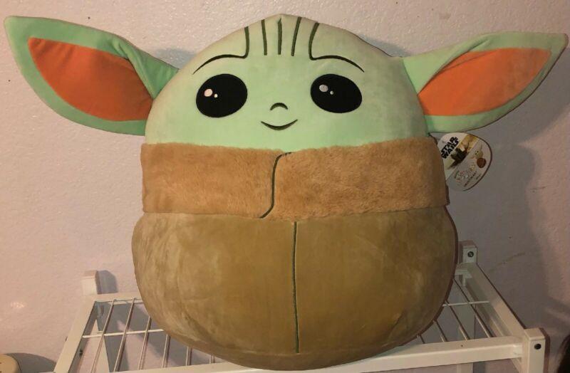 "The Child Baby Yoda 20"" Squishmallow XXL Star Wars Mandalorian!!"