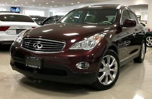2012 Infiniti EX35 Luxury|1 OWNER|NO ACCIDENT|CAMERA|LEATHER|SUN