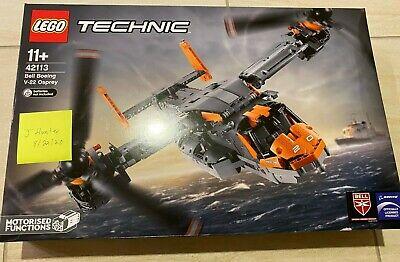LEGO TECHNIC 42113 BELL BOEING V-22 OSPREY NEW SEALED (US Seller) -shipping now