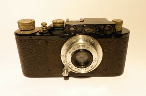 Leica II 35mm Camera 50mm Elmar Lens