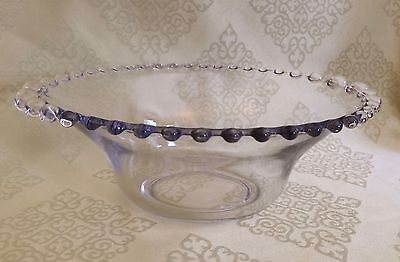 """Candlewick 10"""" Belled Vegetable Bowl by Imperial Glass, Ohio"""