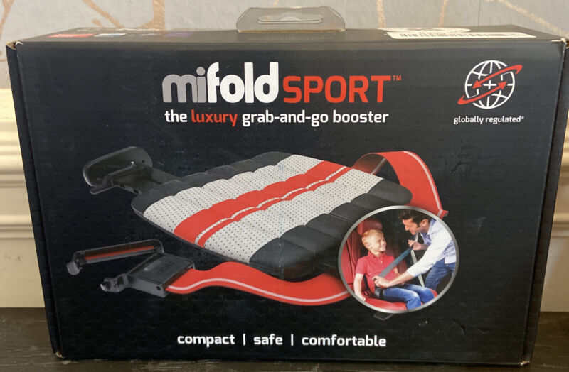 mifold Sport The Luxury Grab-and-go car Booster seat Compact and Portable