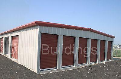 Duro Steel Prefab Mini Self Storage 40x360x8.5 Metal Building Structures Direct