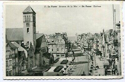CPA - Carte Postale - Belgique - La Panne - Avenue de la Mer (SV10302)
