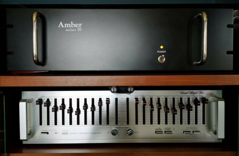 (((Rare Amber Series 70 Vintage Power Amplifier)))