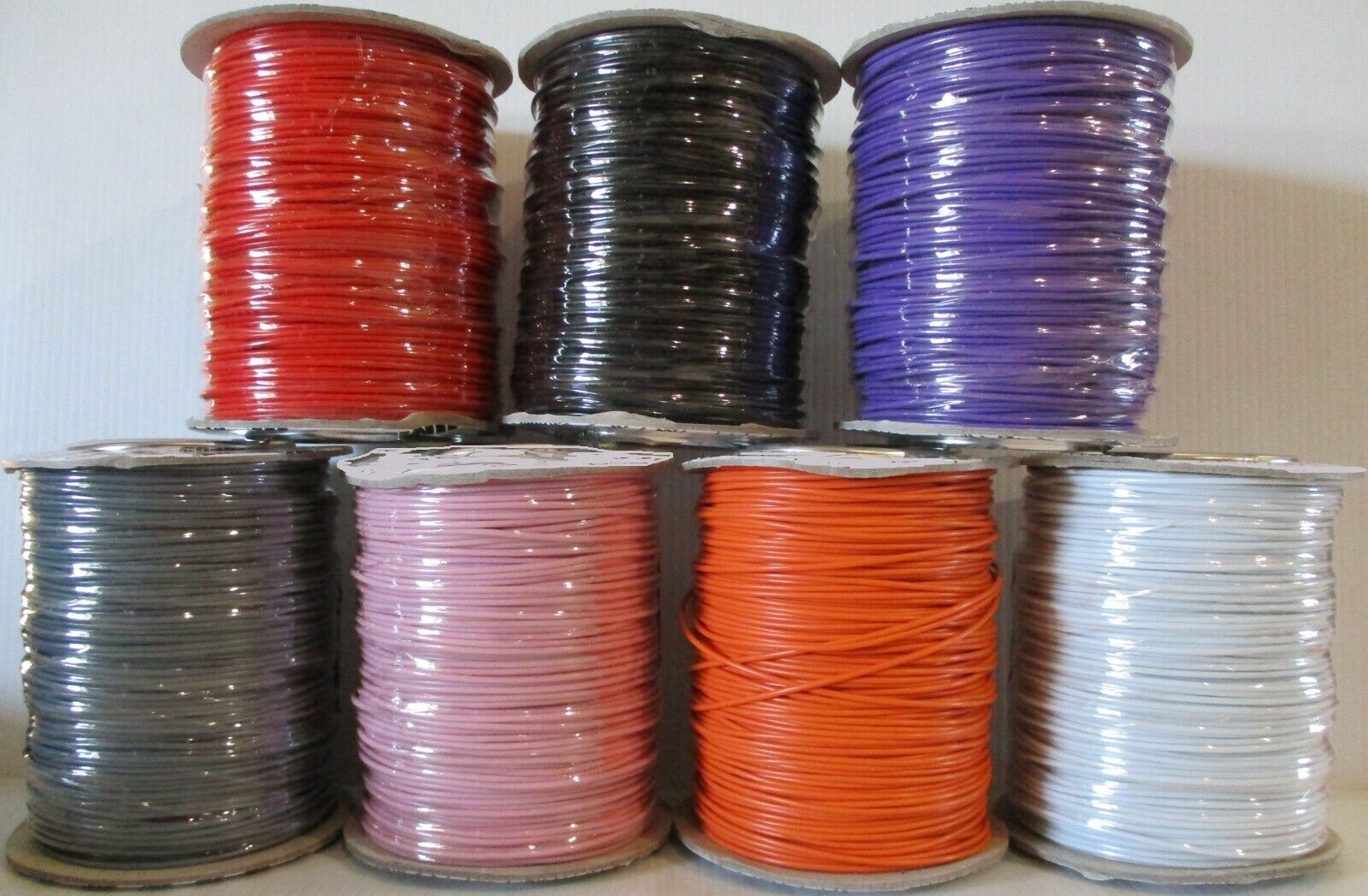 PURPLE Model Railway Layout Wire 100m Roll 7//0.2mm 1.4A PICK YOUR OWN LENGTH