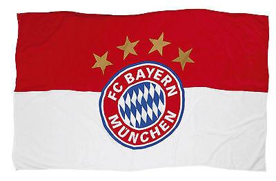 FC Bayern München 11850 Fahne Logo 60x40 cm
