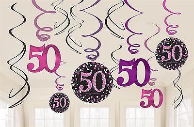 16pk celebración Rosa 30th Cumpleaños Almuerzo Servilletas Vajilla De Fiesta 33cm