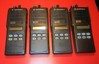 1 Motorola Mts2000 Model Ii 800 Mhz Radio H01ucf6pw1bn