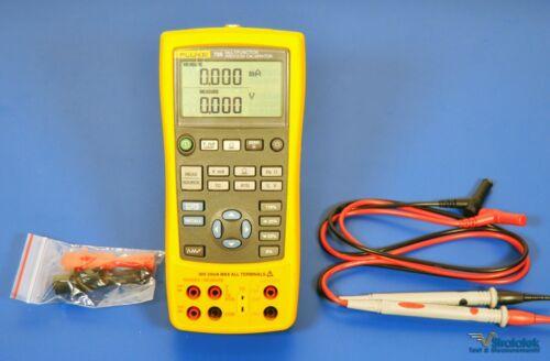 Fluke 725 Multifunction Process Calibrator - NIST Calibrated with Data, Warranty