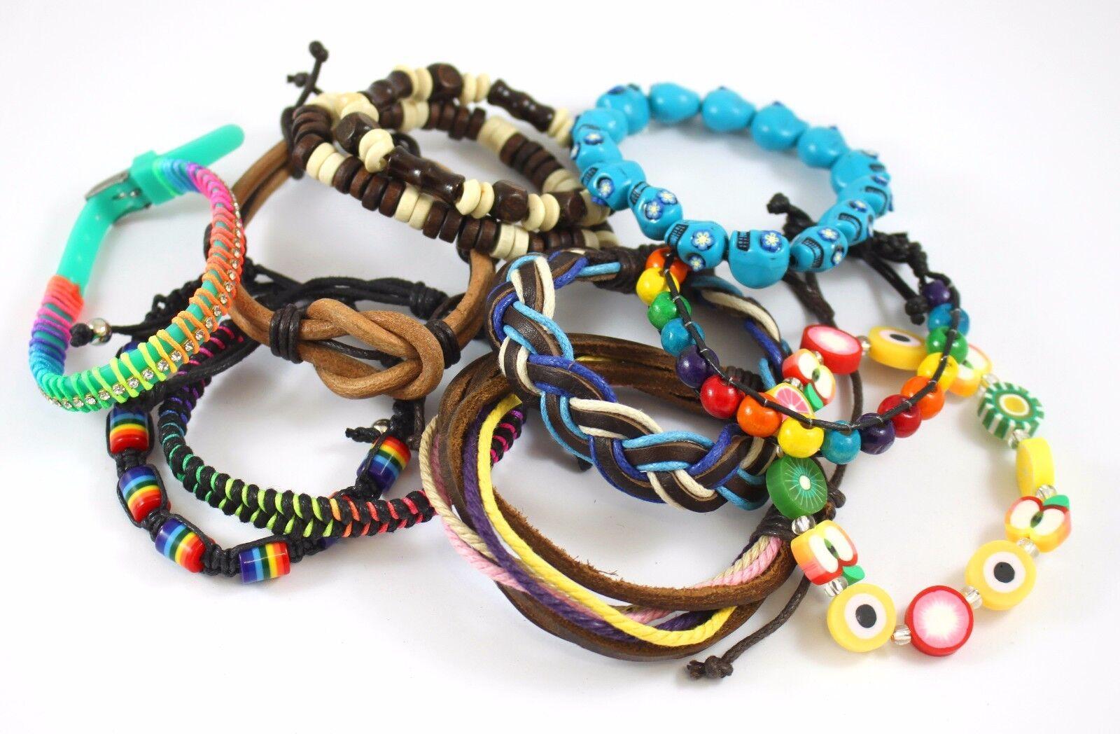 Kids WHOLESALE Party Bag Fillers JOB LOT Friendship Bracelets Favours Childrens