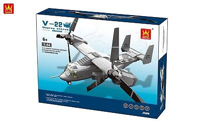 V-22 Osprey Plane  Building Bricks Blocks- Wange  for sale  Enterprise