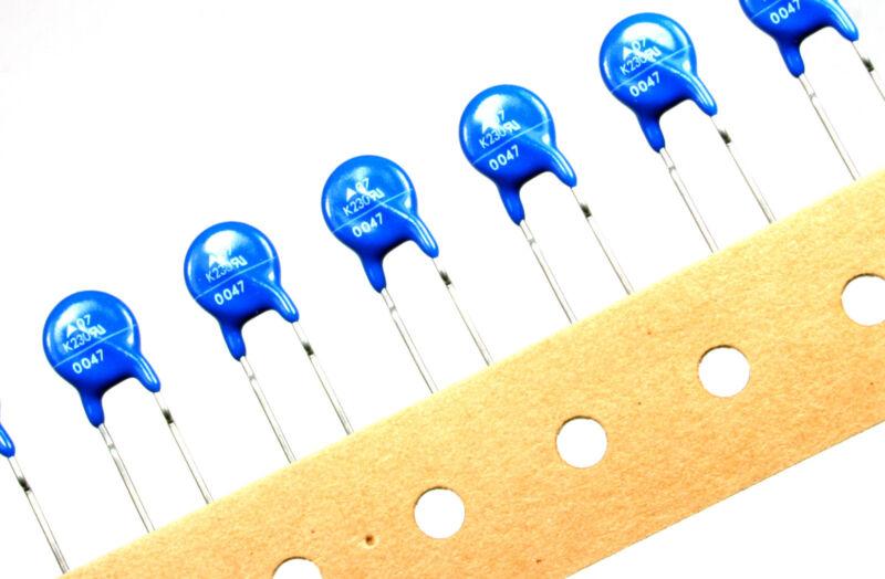 10pcs Epcos S07K230 MOV 230Vac 300Vdc 17J Metal Oxide Varistor