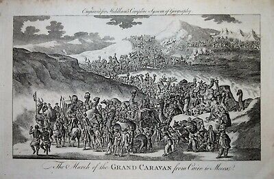 THE MARCH OF THE GRAND CARAVAN FROM CAIRO TO MECCA.. 1779.