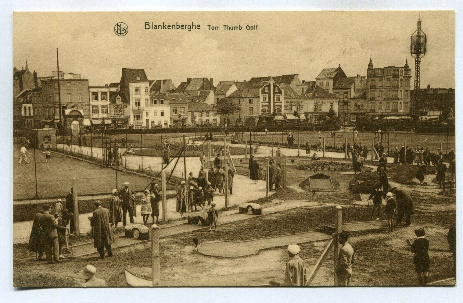 CPA - Carte Postale - Belgique - Blankenberge - Tom Thumb Golf (SV6349)