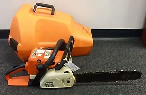 STIHL CHAINSAW 023C WITH HARD CASE Lawnton Pine Rivers Area Preview