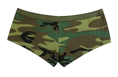 Rothco 3976 / 5476 Women's Pink Camo Booty Or Woodlnd Camo Shorts XS-2XL Pink Camo Booty