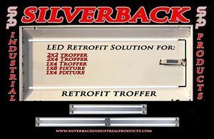 40w Magnetic LED Troffer Retrofit Kit - 2x4 (5000K) 4750 Lumens