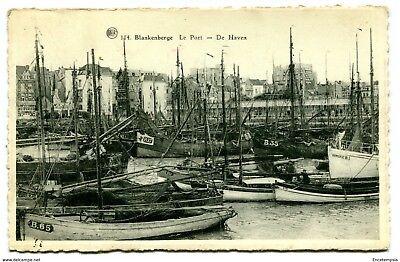 CPA-Carte postale-BELGIQUE- Blankenberge - Le Port - De Haven 1953 (CP2777)