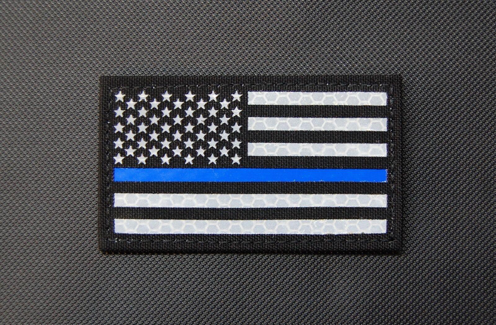 thin blue line union flag patch cops - HD1600×1048