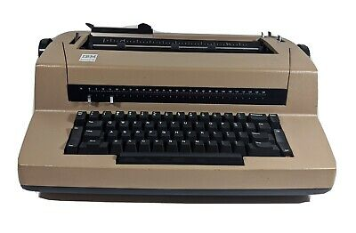 Vintage Ibm Selectric Iii 3 Electric Typewriter Tested Works Not Correcting
