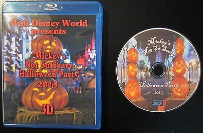 Mickey's Not So Scary Halloween Party in 3D and Blu-Ray 2015](G Halloween Movies)
