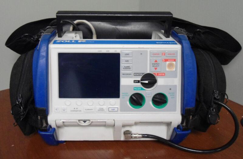 Zoll M Series Monitor - 12lead Ecg, Spo2, Nibp, Etco2, Biomed Warranty