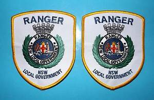 POLICE PATCH NSW RANGER LOCAL GOVERMENT NEW SET Nowra Nowra-Bomaderry Preview
