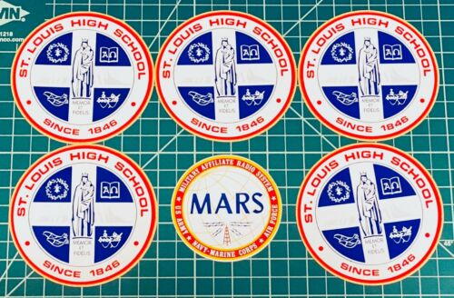"""LOT OF 6 Stickers 