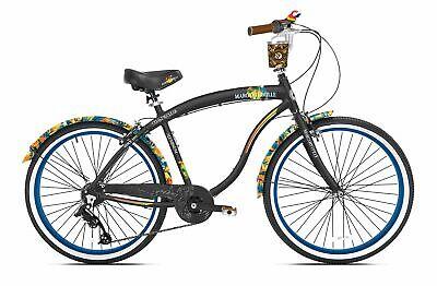 """Margaritaville 26"""" Cruiser Men's Cruiser Bike with Sturdy Ha"""