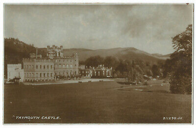 Kenmore - Taymouth Castle - Postcard - By Valentines, #758