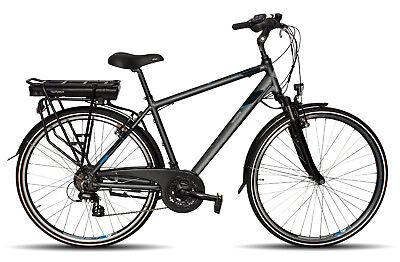 Telefunken Trekking E-Bike XT468 Expedition Alu Herren Fahrrad 28 Zoll, 21 Gang