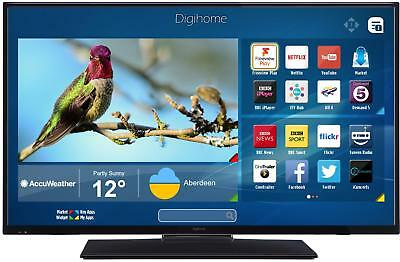 Digihome 43FHDCNTD 43 Inch FHD 1080p D-LED Smart TV with Freeview Play Netflix