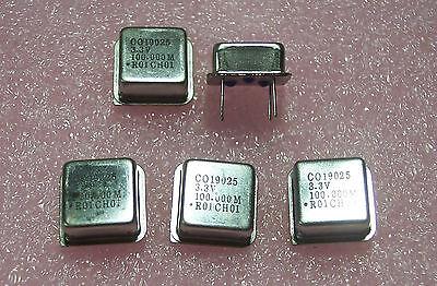 Qty 10 100 Mhz 12 Size Oscillators Raltron Co19025-100.000mhz 3.3v Tristate