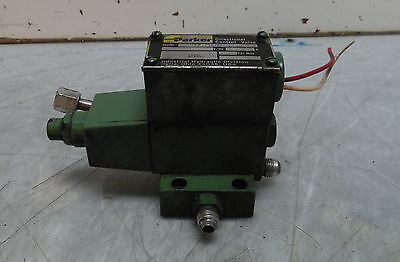 Parker D1VW 20 HY 31 DK, Hydraulic Directional Control Valve, Used