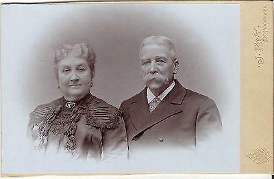 CAB photo Feines Paar - Wien um 1910