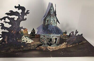 Hallmark - Haunted House - Pop-Up Decoration - Vintage Halloween