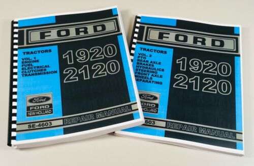 Ford New Holland 1920 2120 Tractor Service Repair Manual SE-4603
