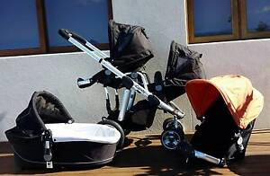 iCandy Apple Stroller with two Pear seats and Bassinet Newcastle Newcastle Area Preview