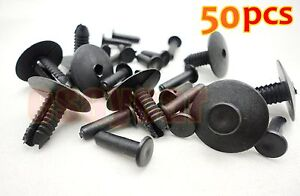 50pcs-Bumper-Trim-Door-Sill-Rivet-Clip-Retainer-For-BMW-E38-E39-Series-3-5-7