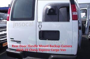 Rear view Camera for Chevy Express & GMC Savana Cargo Van Backup Camera 2010-17