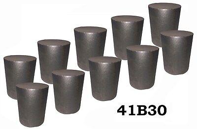 2.75 Round 4130 Steel Alloy Boron Rolled Bar Billets 10 2-3 Long 41b30 Hl