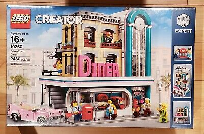 Brand New LEGO 10260 Creator Expert Downtown Diner - Ready to ship