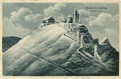 AK Krummhübel / Karpacz ca. 1920 (?) Schneekoppe / Schmiedeberg Kowary