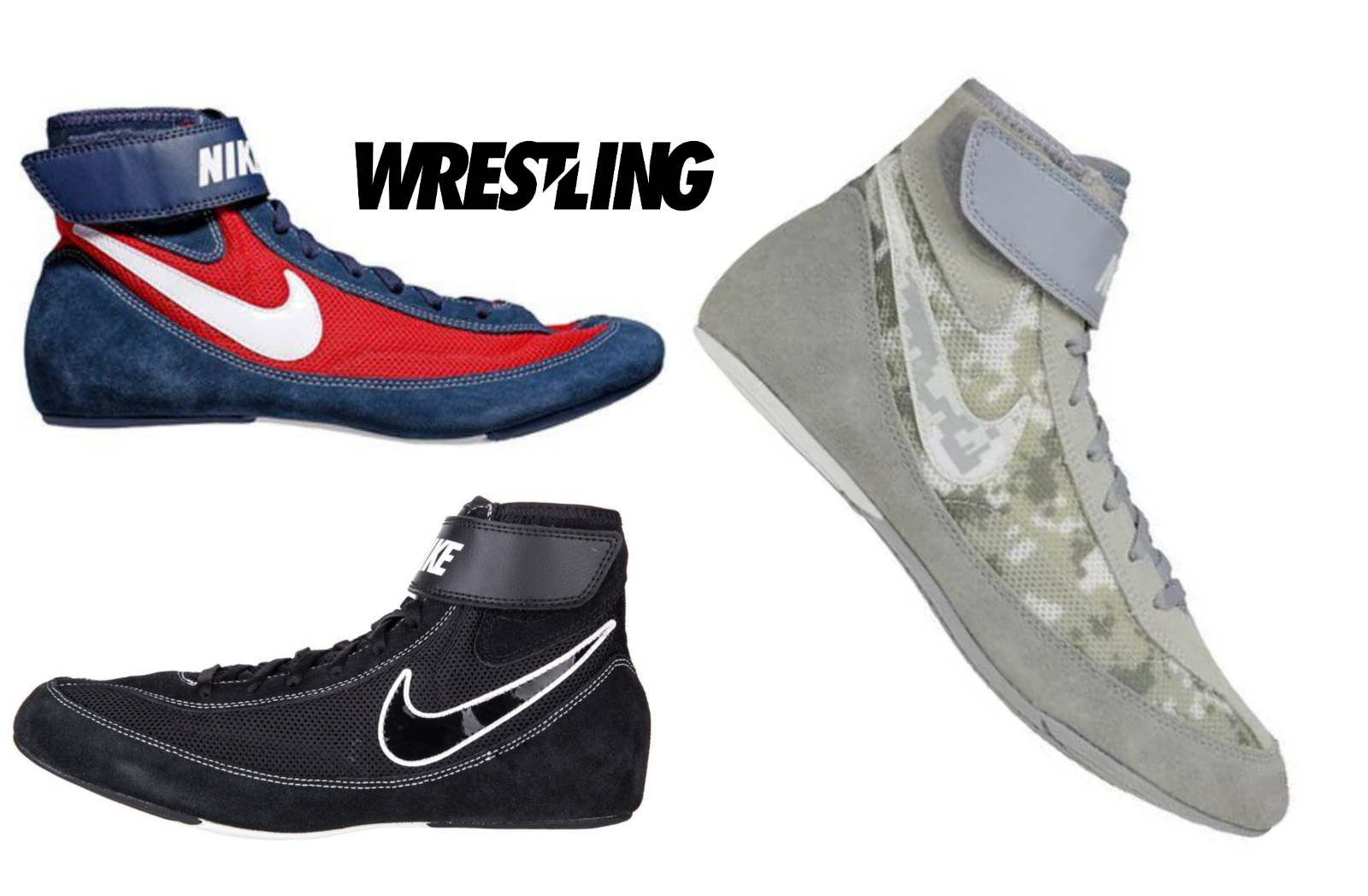 deb20ff463496 Details about Nike Youth Speedsweep VII KIDS Wrestling Shoes Boxing Boots  Combat Sport Shoes