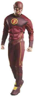 The Flash DC Comics CW TV Series Superhero Fancy Dress Halloween Adult Costume - The Flash Cw Costume Halloween