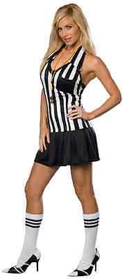 Foul Play Sports Referee Football Fancy Dress Up Halloween Sexy Adult Costume ()