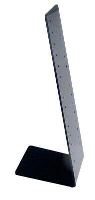 Ear Ring Display Black Acrylic Ear Ring Stud Stand Ear Ring Merchandiser Holder